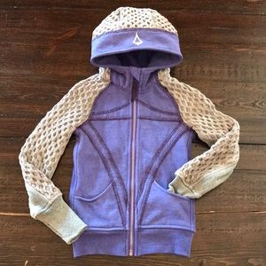 Ivivva Limited Edition Scuba Hoodie, size 4